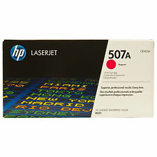 GENUINE HP HEWLETT PACKARD CE403A / 507A MAGENTA LASER PRINTER TONER CARTRIDGE