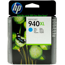 GENUINE HP OFFICEJET PRO HIGH CAPACITY CYAN INK CARTRIDGE HP 940XL (C4907AE)