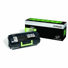 GENUINE LEXMARK 52D2H00 BLACK HIGH CAPACITY RETURN PROGRAM LASER TONER CARTRIDGE