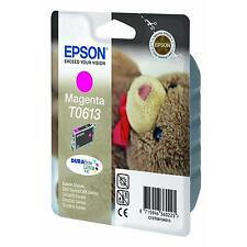 EPSON TEDDY BEAR SERIES DURABRITE MAGENTA INK CARTRIDGE T0613 C13T06134010