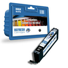 COMPATIBLE CANON PIXMA SINGLE BLACK INK CARTRIDGE CLI-551BKXL (CLI-551 SERIES)