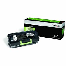 GENUINE LEXMARK 62D2H00 622H BLACK HIGH CAPACITY RETURN PROGRAM TONER CARTRIDGE