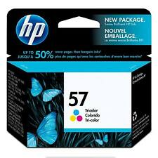 GENUINE OEM HP 57 HEWLETT PACKARD C6657AE ORIGINAL COLOUR PRINTER INK CARTRIDGE