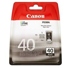 ORIGINAL CANON PIXMA PG-40 BLACK PRINTER INK CARTRIDGE 16ML PG40 / 0615B001