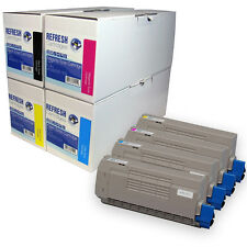 REMANUFACTURED OKI 4386610 LASER PRINTER TONER CARTRIDGES SINGLE OR MULTI PACK