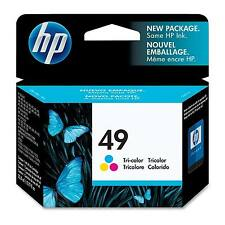 GENUINE OEM HP HEWLETT PACKARD COLOUR INK CARTRIDGE 51649A / HP 49 / HP49