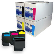 REMANUFACTURED LEXMARK C540 HIGH CAPACITY TONER CARTRIDGE SINGLE OR MULTIPACK
