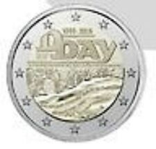FRANCE 2 euro Commémorative D-Day Bataille de Normandie 1944-2014 UNC