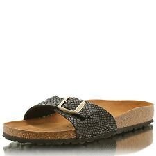 BIRKENSTOCK Madrid BF Shiny Snake black