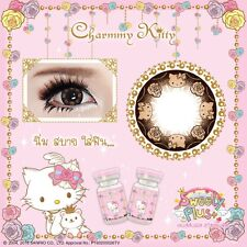 Contact Lenses New!! Hello Kitty Cartoon Set 02 Free Case+Refill bottles+Bag.