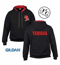 Yamaha YZF motorbike motorcycle hoodie hooded top jacket all sizes