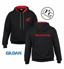 Honda motorbike motorcycle hoodie hooded top jacket all sizes