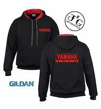 Yamaha Team motorbike motorcycle hoodie hooded top jacket all sizes