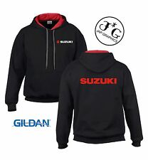 Suzuki motorbike motorcycle hoodie hooded top jacket all sizes