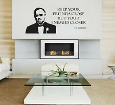 The Godfather Film Movie Wall Sticker Decal Vinyl Wall Art Transfer - UK Seller