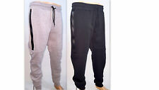Men's Jogger Sweatpants w/ Long Tech Zippers by WT02 ~ US FREE PRIORITY SHIPPING