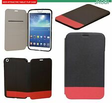 Hybrid Leather & Rubberised Flip Cover For Samsung Galaxy Tab 3 8.0 T310