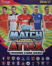TOPPS MATCH ATTAX 2016/2017 TIN + LIMITED EDITION & 50 CARDS OF YOUR CHOICE