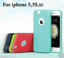 Candy Colors* Soft TPU Silicon Cover Case for Apple iPhone 5/5S/SE
