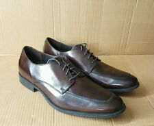 Branded Dark Brown Oxford Shoes Rubber Sole UK6 to UK12 Hand Painted W/O Box