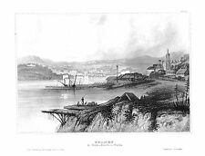 1840 - Sydney New South Wales Australien Australia Stahlstich engraving