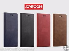 JOYROOM England Leather Full 360 Edge Protective Flip Case for iPhone 7 6S Plus