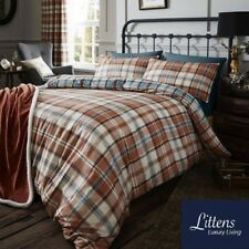 CATHERINE LANSFIELD HERITAGE KELSO CHECKED BEDDING, DUVET COVER, PILLOW