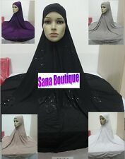 Big Size Prayer Hijab, Print Scarf,Prayer hijab Islam Muslim XXXL use outside