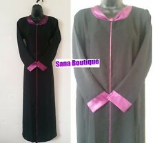 New High Quality Ladies Dubai Abaya, Jibab, Black Abaya, Long maxi,Farasha,Capri