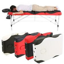 ABODY 3 Fold Therapy Massage Bed 84''L Portable Table Facial SPA Tattoo Bed N7D3