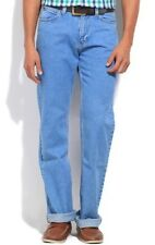 Lee Straight Fit Mens Blue Jeans (Flat 50% OFF)- 89D