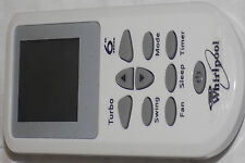 Whirlpool ac remote - Ac remote control, Whirlpool air condition remote