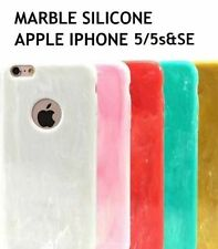 *MARBLE FINISHING* Ultra Thin Soft Silicon Cover Case for Apple iPhone 5/5s *