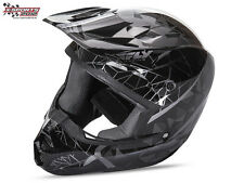 Fly Racing Kinetic Crux Helm Schwarz 2017 Motocross Enduro Cross Helm