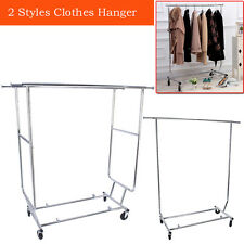 Commercial Heavy Duty Clothes Rail GARMENT RAIL CLOTHES HOME SHOP DISPLAY