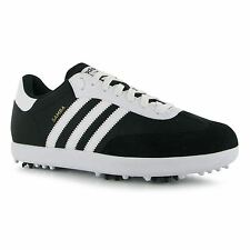 Adidas Samba Golf Shoes Mens Black Golfing Footwear Shoe