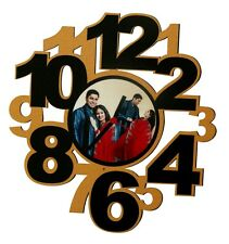 Photo Collage Wall Clock- Gift Item By Aapkiapnishop