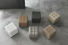 Target Point Pouf Rivestito Mod. CUBE Art. PF600 - Soft Touch