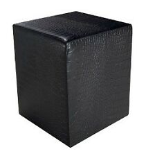 Target Point Pouf Mod. Rubik PF608 - Ecopelle: Coccodrillo Rosso
