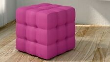 Target Point Pouf Mod CUBE Soft Touch di  - Soft Touch Lilla