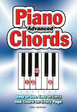 Advanced Piano Chords: Easy to Use, Easy to Carry, One Chord on Every Page by Ja