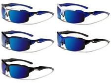 Arctic Blu Occhiali Da Sole Eleganti Sport 100% UV Mens Womens Ladies Unisex