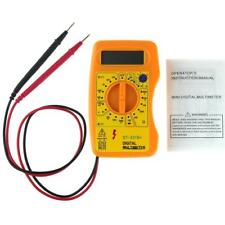 Multimetro digitale LCD voltmetro Ohmetro VOLT AC DC tester di Orange