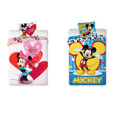Disney Minnie Mickey Mouse Children Bedding Bed Cover