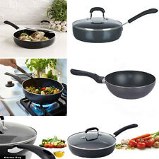 Saute Pan Non Stick Wok Stir Frying Pan 26cm 28cm 30cm Non stick SautePan Wok