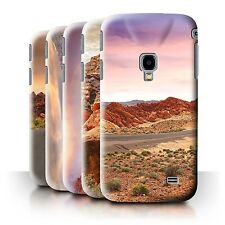 STUFF4 Phone Case/Back Cover for Samsung Galaxy Beam 2/G3858 /State of Nevada