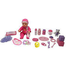 You & Me 14 Inch Baby Doll Starter Set-Caucasian
