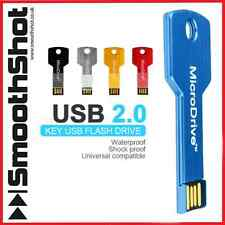 SMART KEYCHAIN 2.0 USB FLASH DRIVE 4GB/8GB/16GB PEN DRIVE METAL KEY MEMORY STICK