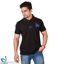 Mens Daily Essentials Pique Polo T-Shirt (Black)