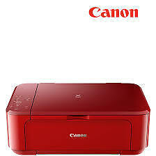 New Canon PIXMA MG3670 All-in-One Inkjet Photo Printer,Duplex Printing-Red